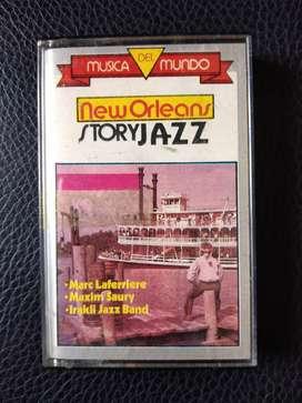 Cassette Original New Orleans Story - Jazz - Varios
