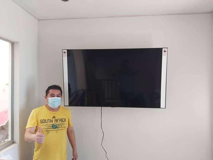 Venta e instalación de Rack o soportes para todo tipo de tv Ayacucho 4K UHD LED NANOCELL