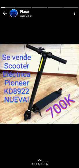 Scooter patineta electrica