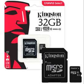 MicroSD 32GB Kingston Micro SD clase 10