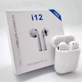 Audífonos TWS i12 modelo earpods