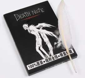 Death Note original con instrucciones y pluma