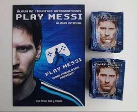Álbum De Figuritas Play Messi - Año 2014 Más 100 Sobres Cerrados