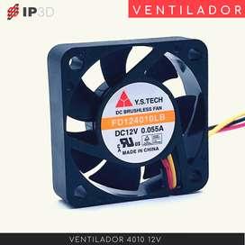 Ventiladores 4010 12 V para impresora 3D