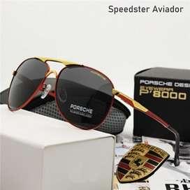 Lentes Porche Speedster Aviador Aviador polarizado HD con proteccion UV400