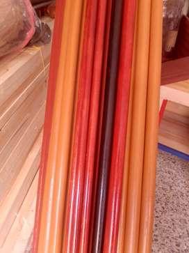 Cortineros en madera (Bolillos)