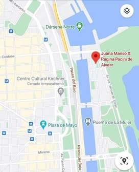 ALQUILER COCHERA Puerto Madero, CABA, excelente ubicación, cerca del Microcentro, cerca Av. Córdoba
