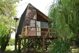 ej45 - Cabaña para 1 a 6 personas en Delta del Tigre