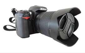 Camara Digital Reflex Nikon D7000 + 18-105 + 55-200 + 50-1.8