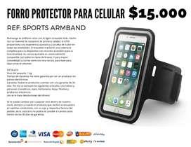 Forro protector para celular