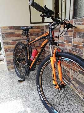 Vendo cicla ontrail montañera 27.5