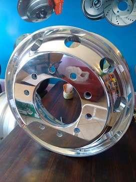 Distribución de tambores  y aros para vehiculo