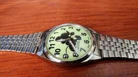Reloj Raro Mickey Mouse Luminoso