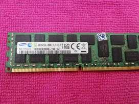 Memoria ram 8Gb ddr3 pc3L_12800R para servidores