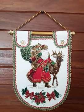 Pendones Navideños Para Las Puertas Noeles, Pesebres Y Más