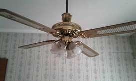ventilador de techo perfecto estado y funcionamiento con luz