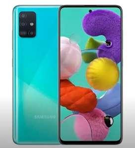 Samsung A51 NUEVO. NEGRO Y AZUL