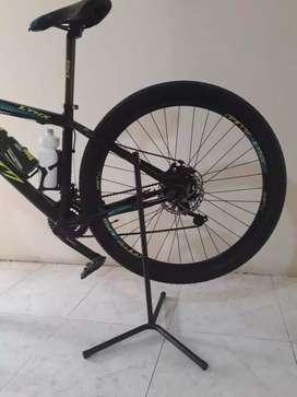 Soportes de piso para bicicletas