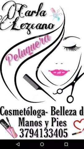 Peluquera y cosmetologa