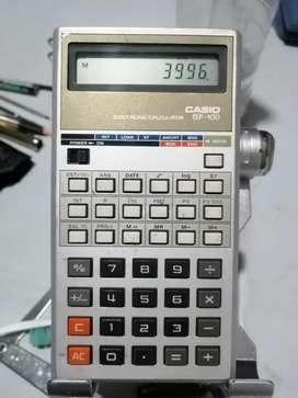 Calculadora Casio financiera clásica BF 10O tasas amortización y otras funciones