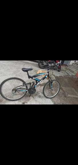Bicicleta con marchas