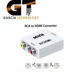 CONVERTIDOR DE RCA A HDMI
