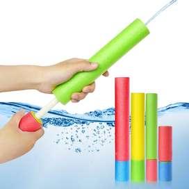 Juguete disparador de agua para niños.