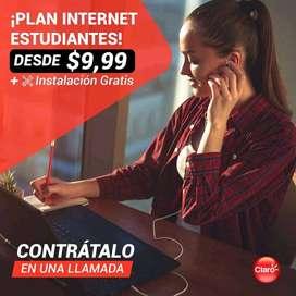 Internet ilimitado para hogar desde $10