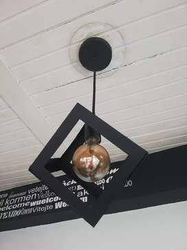 Lámpara Decorativa Cubo