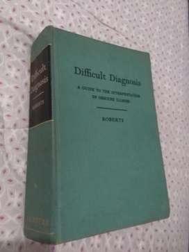 Difficult Diagnosis . Roberts Diagnostico enfermedades raras en ingles