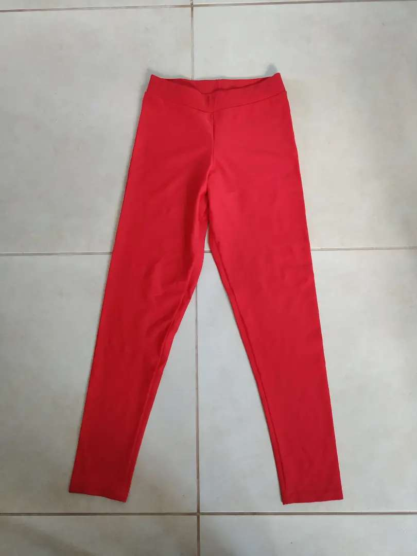 Calza Roja Lycra 0