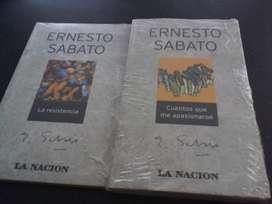 10 libros de Sabato colección La Nación 250 cada uno
