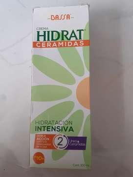 Crema hidratante ceramidas