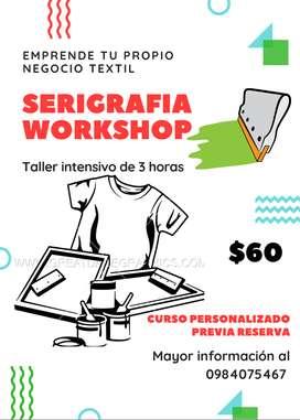 WORKSHOP INTENSIVO DE SERIGRAFÍA