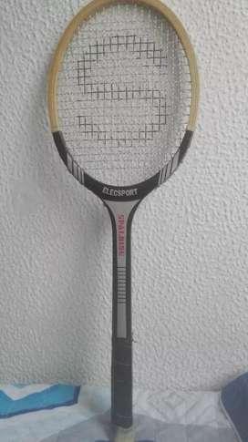Raqueta elecsport spalding vintage