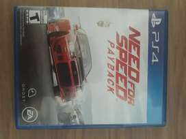 Vendo Need For Speed Payback ps4