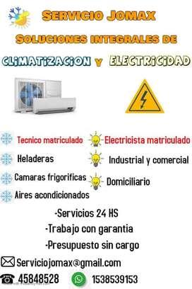 Electricidad y Refrigeración