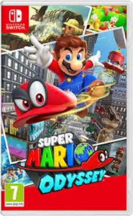 Mario: Odyssey ( nintendo switch )