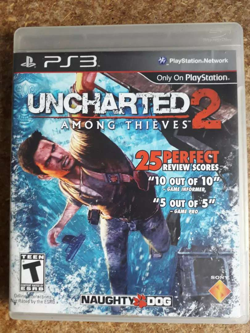 uncharted 2 ps3 PlayStation 3 0