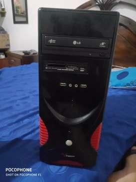 Vendo computador de 4gb ram y 250gb