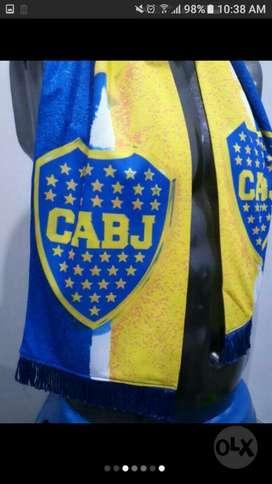 Bufanda Boca Juniors Coleccion