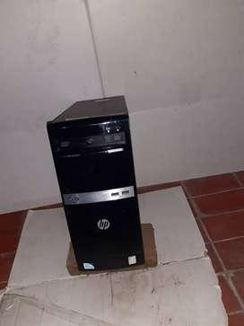 PC ( Personal computer ) minitower , HP modificada, tiene unos 10 años ( mucho tiempo parada)