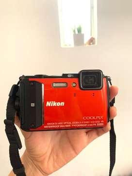 Cámara Nikon sumergible. Nikon coolpix Aw130