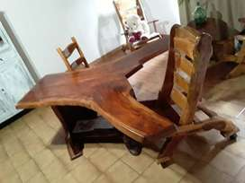 escritorio de cedro