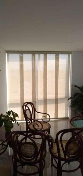 Venta de cortinas un Panel Japones para sala y blackout par habitacion