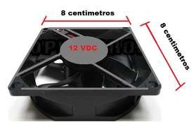 Ventilador 12 Vdc Para Celda Peltier Y Proyecto Electronico