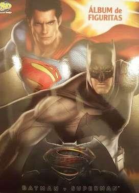 Figuritas Batman vs Superman Sticker design venta