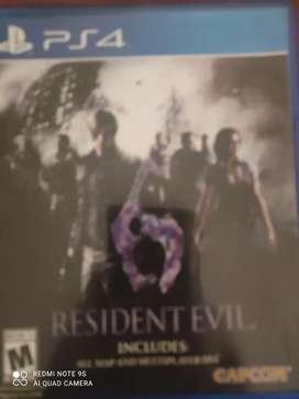 Colección residente evil c/u 50