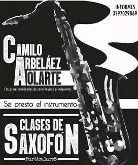 Clases de Saxofón Personalizadas