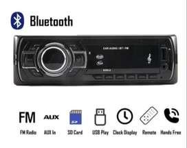 Radio De Auto Bluetooth 1 Din Usb Mp3 Microsd Aux
